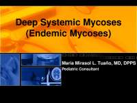 systemic mycoses - microbiology