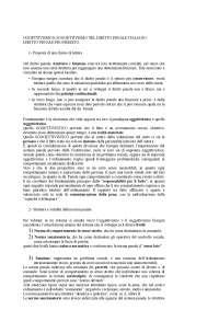 Oggettivismo e Soggettivismo (Paliero per Diritto penale progredito)