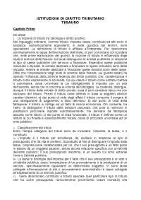 Diritto Tributario Economia Perugia 2018/19