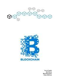 Blockchain trabajo de la asignatura aplicaciones informáticas.