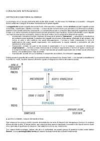 Riassunto manuale Comunicare Interagendo La Mendola