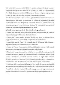 Step 5 del project work per SkyTg 24- Master MARCOM - Global Marketing, Comunicazione e Made in Italy