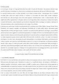 Sociologia dei processi culturali- Loredana Sciolla