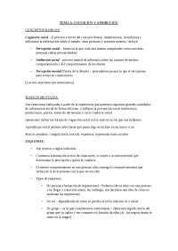Tema 3. Psicología Social I