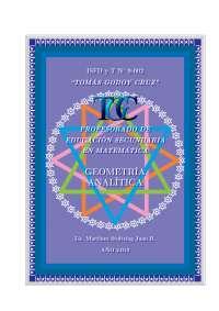 geometria analitica profesor martinez stolzing