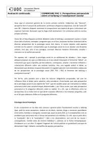 PAC 1 Fonaments psicosocials del comportament humà