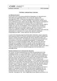 Comentari PAC 2 Fonaments Psicosocials del comportament