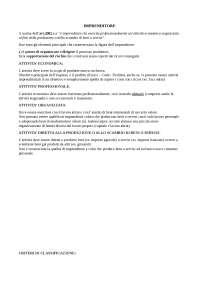 Imprenditore (varie tipologie) e attività economica imprenditoriale