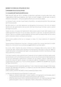 Momenti di storia dell'istruzione in Italia (Prima parte del testo)
