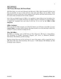 Internet basics and html
