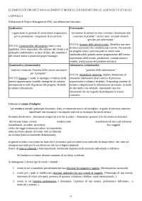 ELEMENTI DI PROJECT MANAGEMENT E MODELLI DI REPORT PER LE AZIENDE CULTURALI