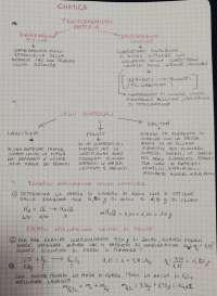 Mappa chimica leggi ponderali