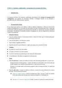 Tema 5. Contratos conductuales y economía de fichas