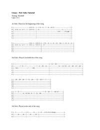 Gitara Guitar Tabs Solo