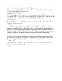Thermodynamics properties