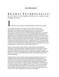 Akamai Technologies Case Study