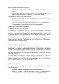 Capítulo 42, Manual Derecho Procesal, Resumen
