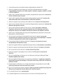 domande 24 cfu metologie didattiche