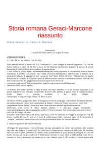 storia-romana-geraci-marcone-riassunto