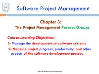 project scope about process