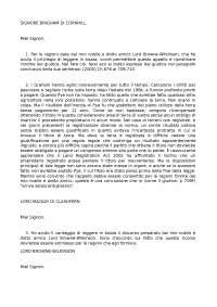 sentenza - sistemi giuridici comparati