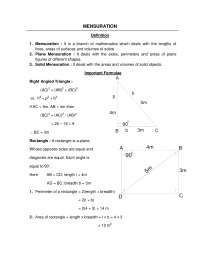 Geometry Formulas 2D_3D