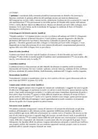 autismo appunti della malattia con incidenza