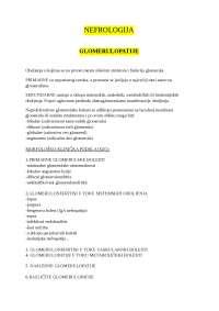 Nefrologija - Interna medicina