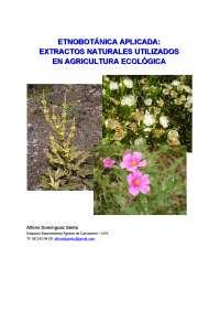 EXTRACTOS NATURALES QUE SIRVEN COMO INSECTICIDAS