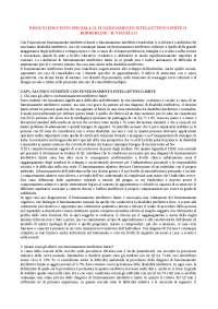 BISOGNI EDUCATIVI SPECIALI: IL FUNZIONAMENTO INTELLETTIVO LIMITE O BORDERLINE - R. VIANELLO, S. DI NUOVO, S. LANFRANCHI
