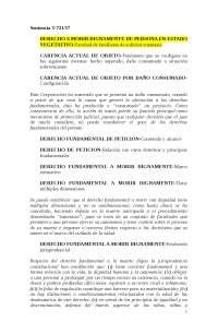 sentencia T-721-17 DERECHO A MORIR DIGNAMENTE