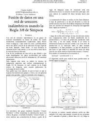 Regla 3/8 de Simpson