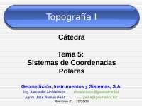diapositiva para calcular las coordenadas polares