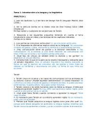 practica de linguistica
