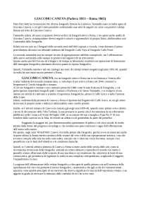 Souvenirs de Rom - Giacomo Caneva