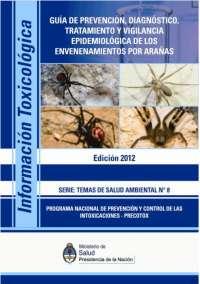 guia de tratamiento de mordeduras de arañas en el perú