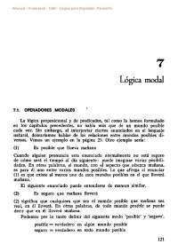 Logica para lingüistas allwood, logica 2