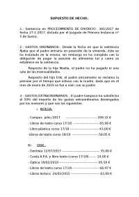 SUPUESTO DE HECHO PROCESAL 2
