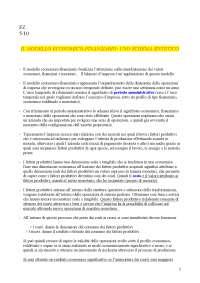 Appunti per esame di Economia Aziendale (parte teorica)