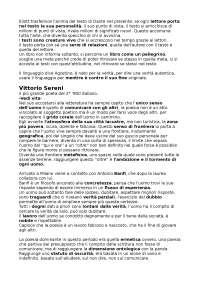 Appunti Italiano per la comunicazione