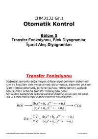 Otomatik Kontrol Elektrik ELektrn