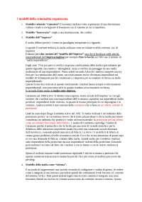 Sociologia della criminalità organizzata, appunti di Rocco Sciarrone