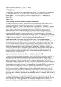"""Riassunto """"Neuroscienze affettive ed educazione"""" di M. H. Immordino-Yang"""