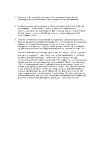 CLIF BAR Case Study