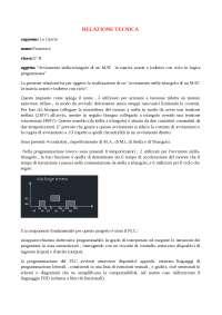 Relazione tecnica Avv. Stella-triangolo di un motore asincrono trifase