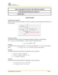 Guia de estudio plano en r3
