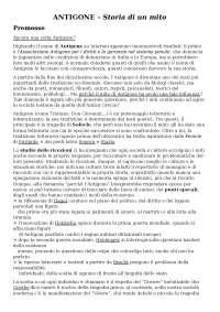 """""""Antigone: storia di un mito"""" di Fornaro - riassunto"""