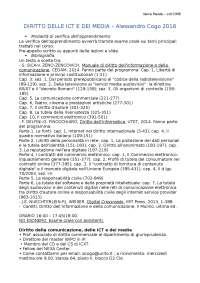 Diritto delle ICT e dei media 1.odt
