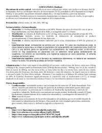 FICHA FARMACOLOGICA DE AMISULPRIDE