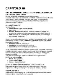 Riassunto Economia aziendale, Francesco Giunta,